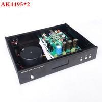 Updated Version AK4495 2 AK4118 XMOS USB DAC Decoder Optical Coaxial Input RCA Output