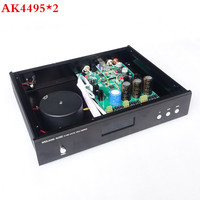 Updated Version AK4495 2 AK4118 XMOS USB DAC Decoder Optical Coaxial Input RCA Output