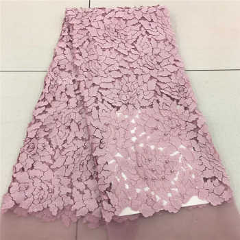 Onion Nigerian French Lace Fabrics 2018 African Tulle Lace Fabric High Quality African Lace Wedding Fabric For Dress MR1757B - SALE ITEM Home & Garden
