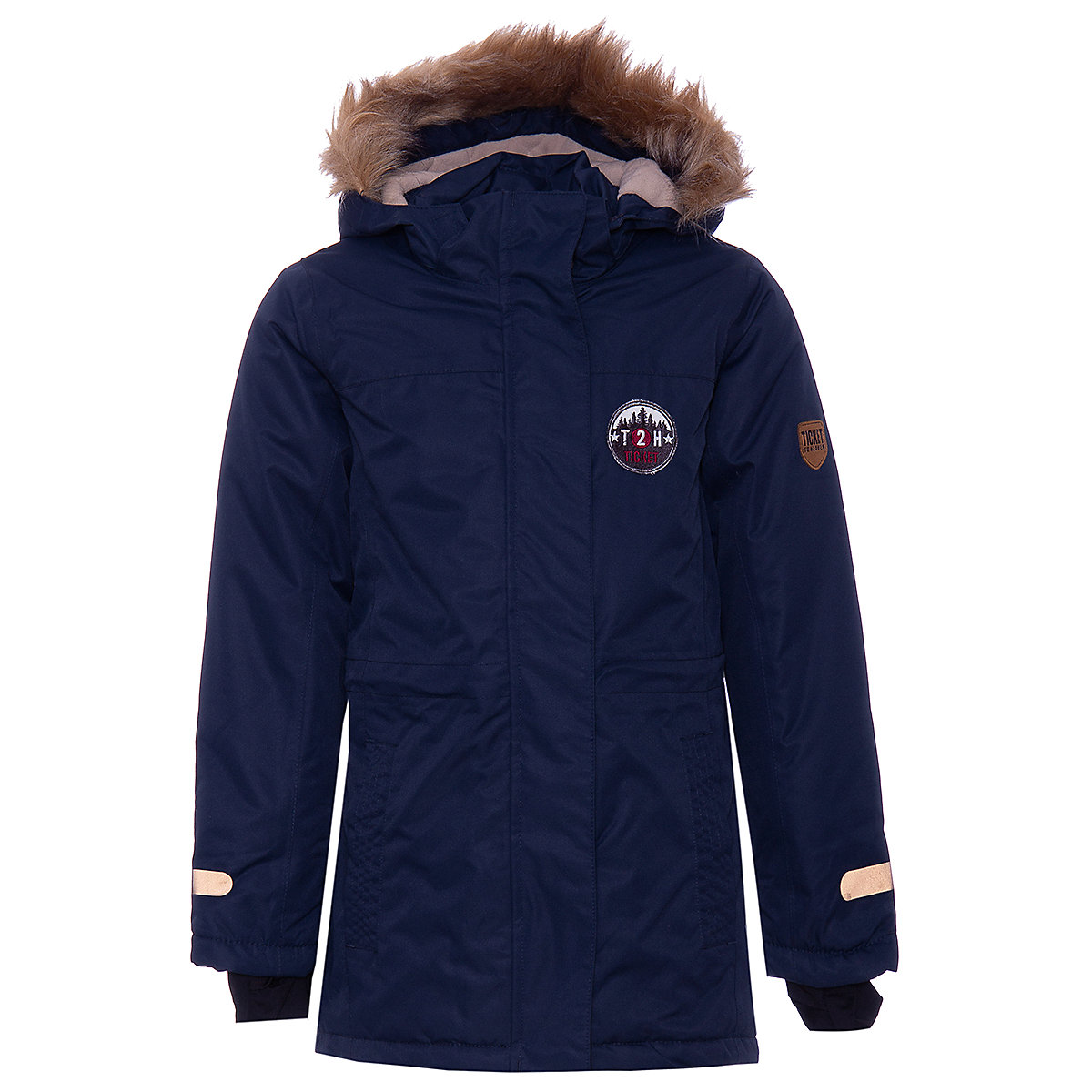 Jackets & Coats TICKET TO HEAVEN for girls 8305475 Jacket Coat Denim Cardigan Warm Children clothes Kids icebear 2018 new men s winter jacket warm detachable hat male short coat fashion casual apparel man brand clothing mwd18813d
