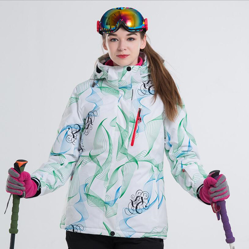 LANLAKA Women Ski Jacket Thermal Clothing Windproof Waterproof Breathable Outdoor Sport Wear Skiing Snowboard Coat Female JackerLANLAKA Women Ski Jacket Thermal Clothing Windproof Waterproof Breathable Outdoor Sport Wear Skiing Snowboard Coat Female Jacker