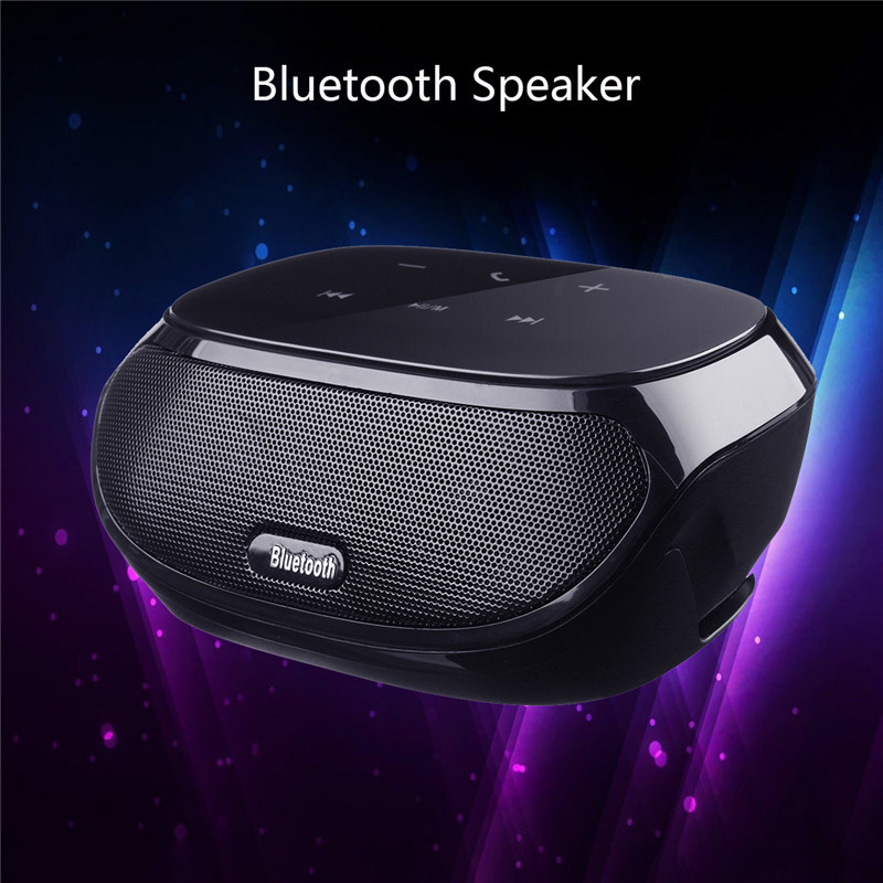 Portable Bluetooth Speaker Wireless Stereo Sound System Music Audio Speaker Outdoor Big Power HIFI Loudspeaker Soundbar tronsmart element t6 mini bluetooth speaker portable wireless speaker with 360 degree stereo sound for ios android xiaomi player