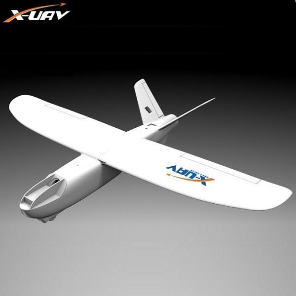 X-uav Mini Talon EPO 1300mm Wingspan V-tail FPV Rc Model Airplane Aircraft Kit x uav mini talon epo 1300mm wingspan v tail uav white air fpv rc model radio remote control fpv airplane aircraft kit