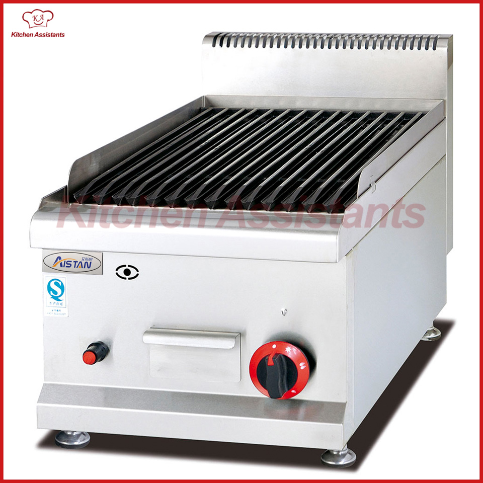 Bereiche Modestil Gh539 Gas Lava Roack Grill Catering Ausrüstung