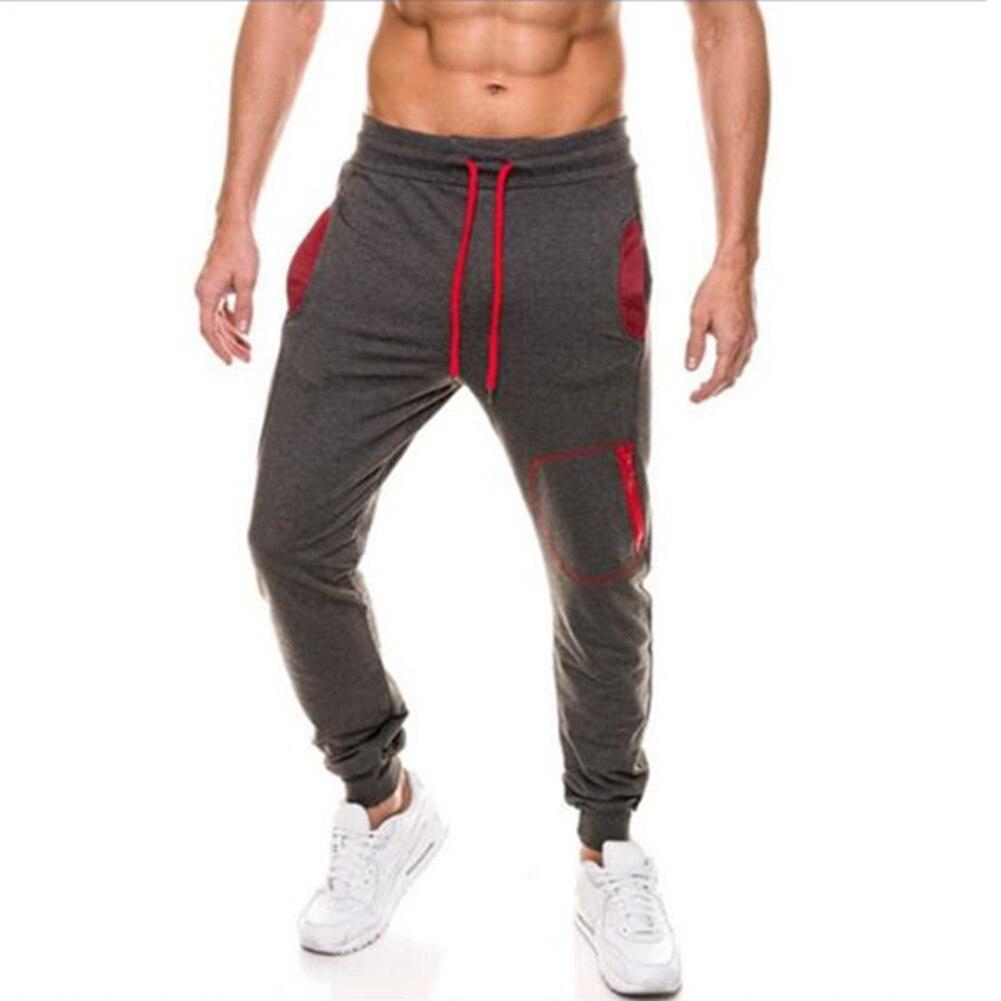 Men Skinny Mens Sweat Pants Male Cotton Sportswear Autumn Casual Pants Menswear Thick Warm Long Casual Trousers Straight Pants