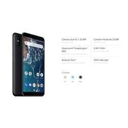 "Xiaomi Mi A2 Smartphone 5,99""FHD+ (RAM 4 GB + ROM 64 GB, Dual SIM, Dual Camera 12 + 20 MP, Android One*) 4"