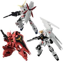 Gundam armadura conjunto modelo g quadro RX-93 unicórnio sazabi figura de ação brinquedos figurais modelo brinquedos