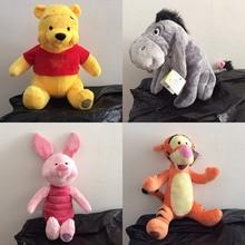 Plush-Toy Donkey Eeyore The-Pooh Disney Winnie Soft-Doll Piglet Stuffed Pink Friend And