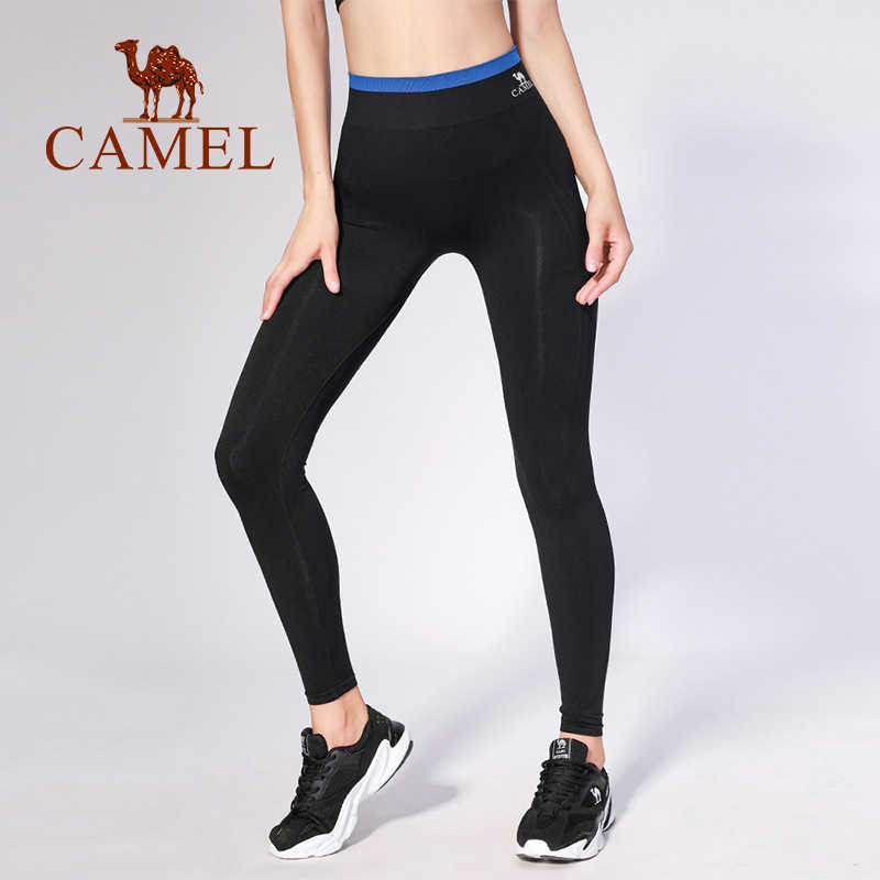 36b0d113177e9 CAMEL 4 Colors Women Yoga Pants Sportswear 2019 New Fitness Soft Yoga Pants  Tight Stretch Breathable
