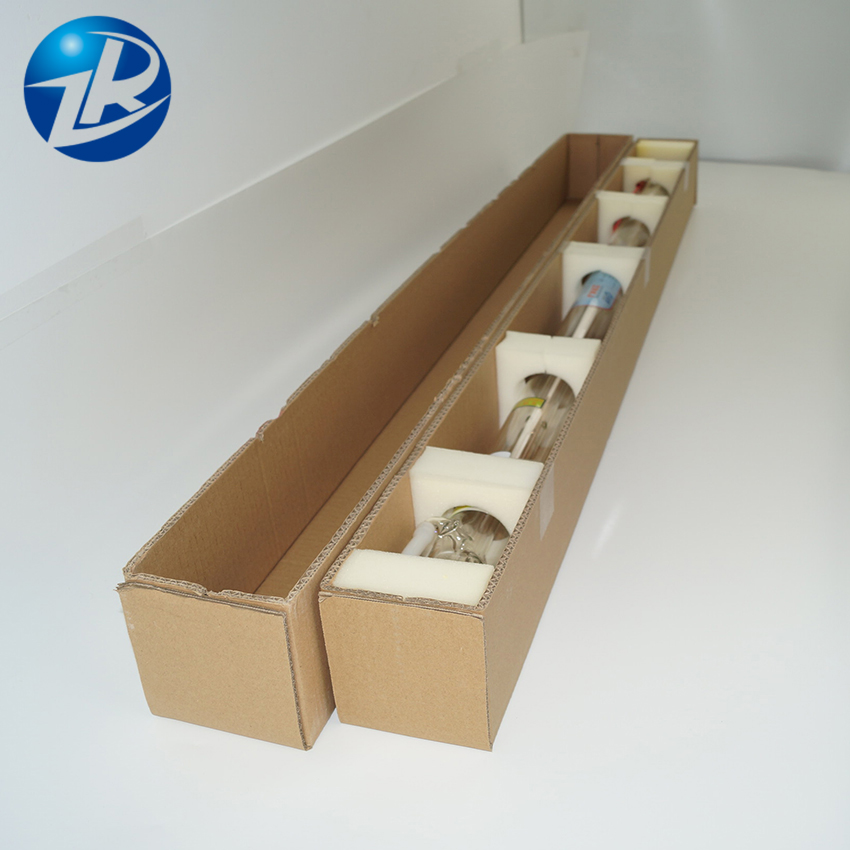 1850*80mm Co2 Laser Tube 150W  Glass Laser Tube  CO2 Laser Tube ZuRong