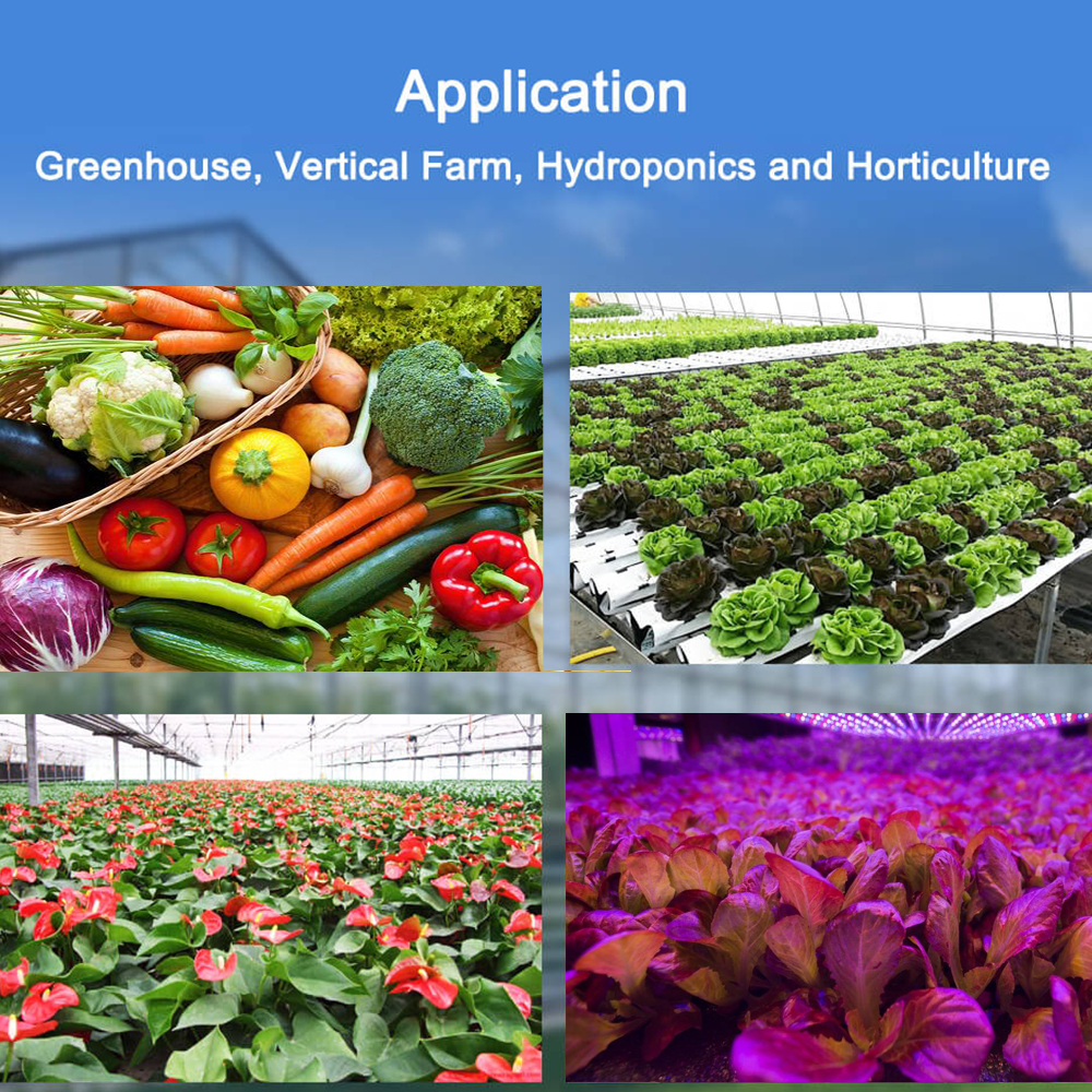 Купить с кэшбэком COB LED Grow Light 900W Panel with Dimmable Veg Grow Bloom& Full Spectrum Four Modes for Indoor Planting Hydroponic Greenhouse