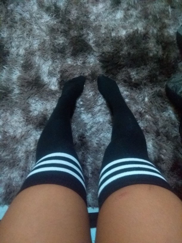 Beautiful Over The Knee Socks photo review