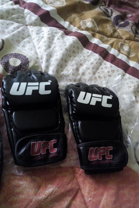 SUOTF черный боевые ММА Боксерские спортивные кожаные Перчатки Тигр Муай Тай борьба бокс ММА Перчатки бокса Санда Боксерские перчатки колодки ММА