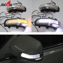 Светодиодный светильник с боковым крылом и поворотным сигналом, освещение для парковки, для Toyota Camry 2007-2011 Corolla Altis Vios