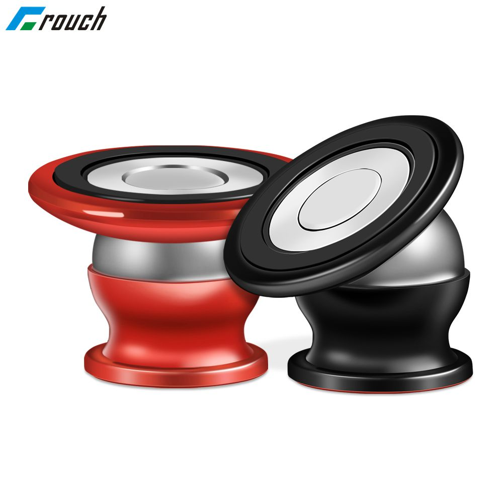 Crouch 360 Degree Magnetic Car Phone Holder For IPhone X 7 8 Xs Max Samsung S10 S9 Xiaomi Mi9 Mi8 GPS Stand Magnet Car Holder