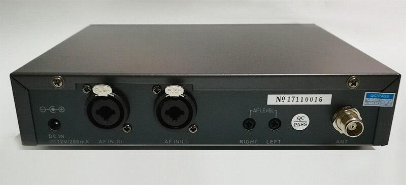 Top Qualität PSM300 in ohr monitor system Metall bodypack Empfänger Professionelle Drahtlose in-ear bühne Überwachung Bühne kopfhörer