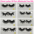 50 Pairs Free DHL Vip Momo 25mm Lashes Dramatic Mink Lashes Soft Long 3D Mink Eyelashes Crisscross Full Volume Eye Lashes Makeup