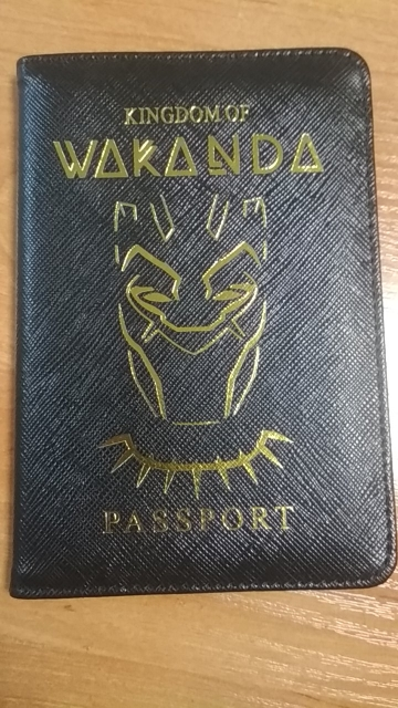 DIKEDAKU Wakanda Paspoort Cover Unisex Rfid Hoge Kwaliteit Pu Lederen Kaarten Paspoort Houder Hogwarts Asgard Paspoort Case Portefeuilles photo review