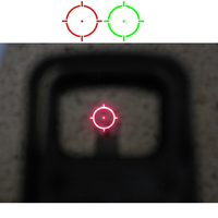 0 parallax 551 552 553 Red Green Dot Holographic Sight Scope Hunting Red Dot Reflex Sight Riflescope With 20mm Mount