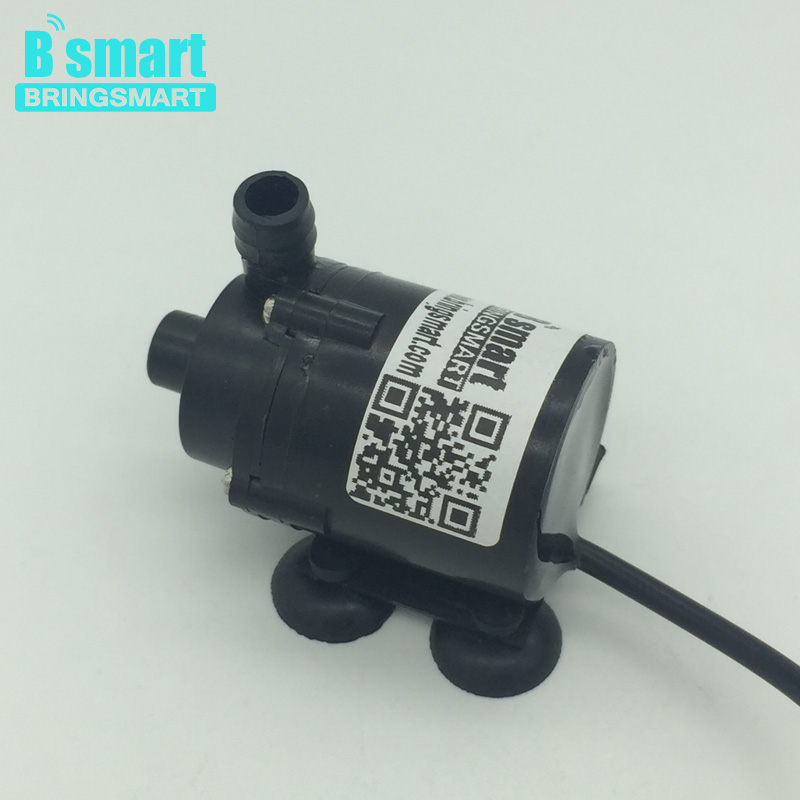 JT-160 Micro DC Brushless Submersible Water Pump 12v Solar Fountain Pump 6v Free shipping dc 12v 1a powerful micro brushless magnetic amphibious appliance water pump