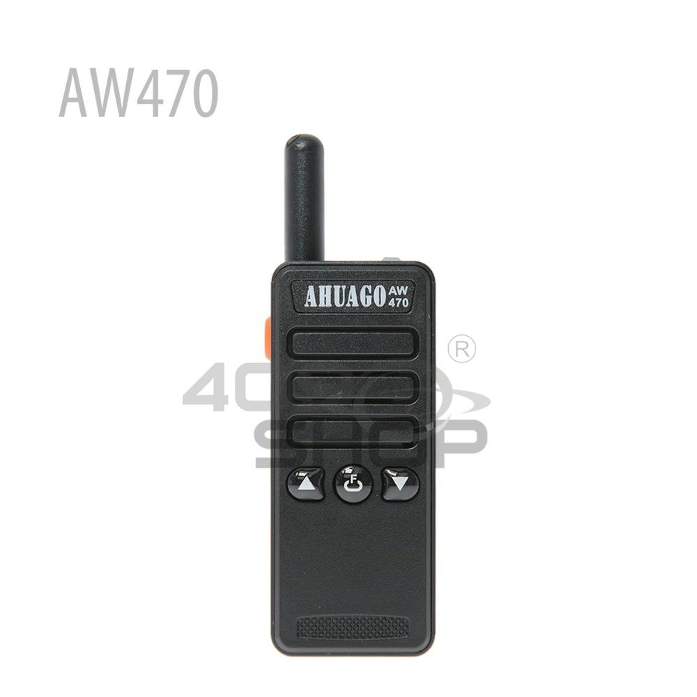 AHUAGO M2 AW-470 Mini 2.5 w 16CH mini De Poche Deux-way Radio Talkie Walkie ÉCOUTEUR LIBRE