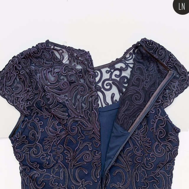 Плетеный шнур для отделки платья это