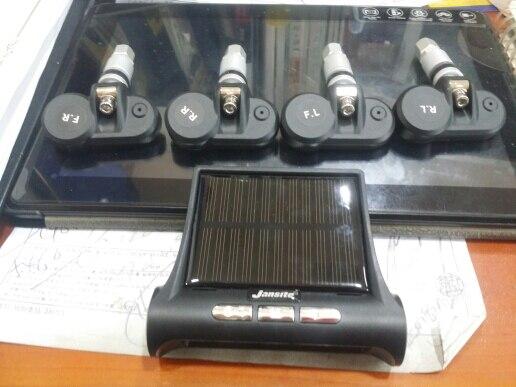 Jansite умный автомобиль TPMS система мониторинга давления в шинах солнечная мощность цифровой ЖК-дисплей автоматическая система охранной сигнализации s давление в шинах