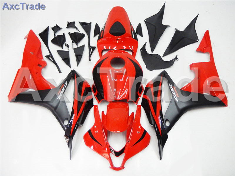Motorcycle Fairings For Honda CBR600RR CBR600 CBR 600 RR 2007 2008 07 08 F5 ABS Plastic Injection Fairing Bodywork Kit Red A240 motorcycle winshield windscreen for honda cbr600rr f5 cbr 600 cbr600 rr f5 2007 2008 2009 2010 2011 2012