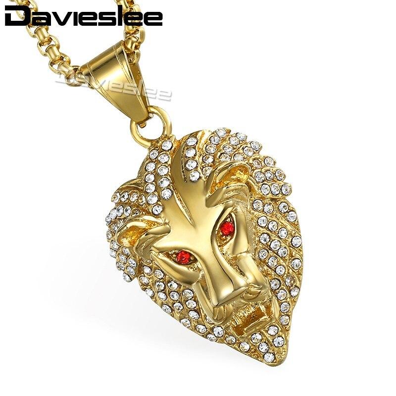Aliexpress Com Buy Davieslee Necklace For Men Hip Hop