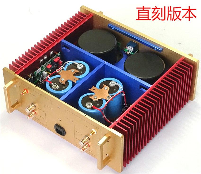 Best Sound No Negative Feedback Study/Copy Dartzeel NHB108 Power Amplifier Amp 200W*2 OFC Super Pure Cooper Transformer