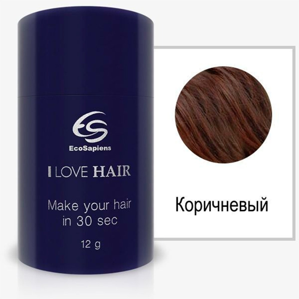 Hair thickener I love hair, hair powder, hair shadow, hair dye, hair paste, temporary dye, hair dye, hair designer Ecosapiens green pentagram hair ring