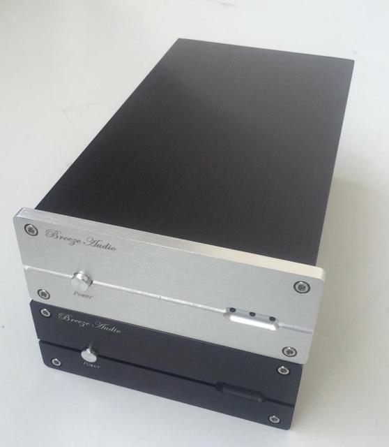 BZ1506H すべてアルミ DAC デコーダシャーシミニ USB エンクロージャオーディオ DAC ケース Diy のボックス 155 ミリメートル * 60 ミリメートル * 241 ミリメートル