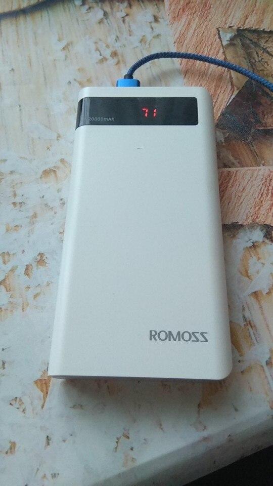 Внешний аккумулятор Romoss Sense 4P 10400 мАч