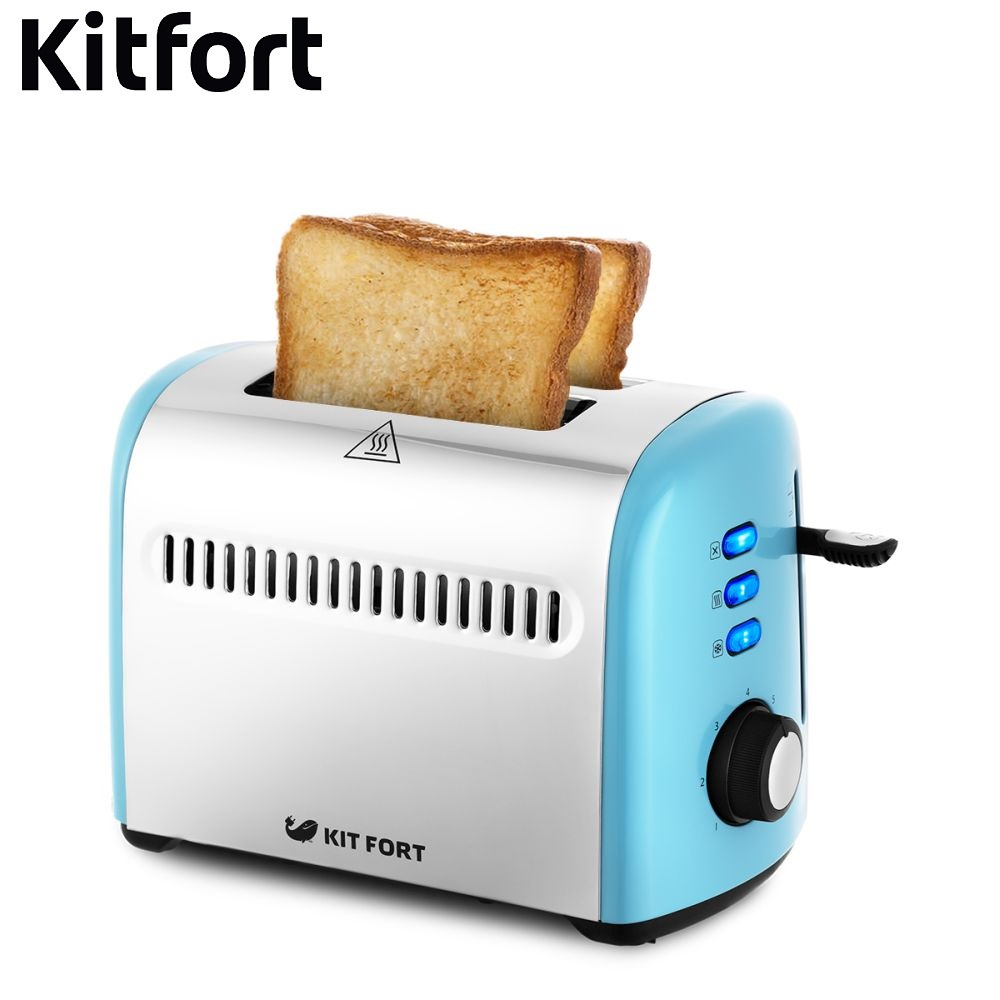 Toaster Kitfort KT-2026 Toaster Kitfort sandwich home kitchen appliances cooking fry bread to make toasts Bread Maker grill free shipping fashion toaster