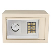 Safurance Digital Depository Drop Cash Safe Box Gun Jewelry Home Hotel Lock Keypad White Safety Security