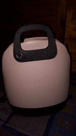 2019 D Buckle Oblong Handle Slim PU Leather Buckle Strap Bottom Backpack Kit Combination Set for Obag '50 O Bag photo review