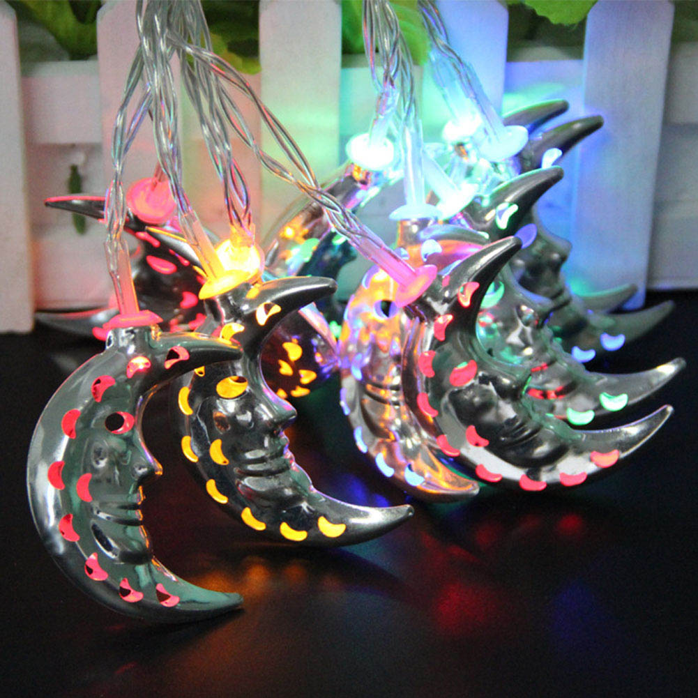 Christmas Lights Vivid Moon Gardens decoration Fairy String Light For Outdoor ...