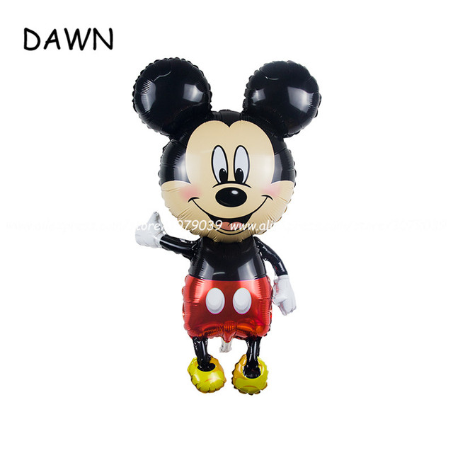 Zeer 5pcs/lot Large 110cm Giant Mickey Minnie balloons Mickey Mouse  @KD-94