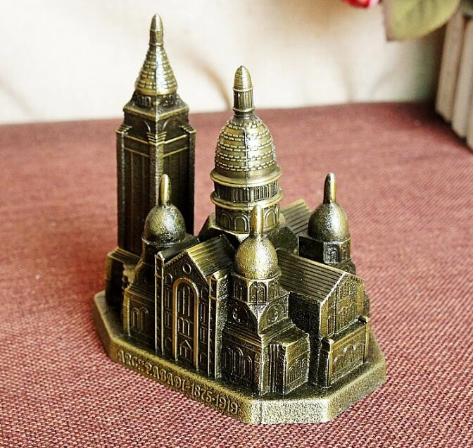 14 Available Famous Building Model Vintage Home Decoration Bronze World Tourist Souvenir Xmas Gifts Lighthouse Venus XM10