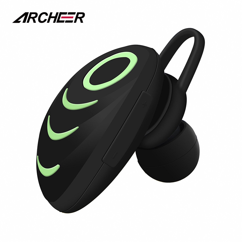 ARCHEER Mini Bluetooth Earphones In Ear Wireless Bluetooth Car  Earbuds Earpiece With Microphone For iPhone