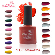M.Ladea Gel Varnish Nail Art DIY Design 140 Colors Soak Off UV Nail Gel Polish 8.3ML Professional Long Lasting Gel Nail Polish