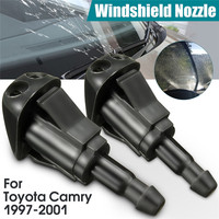 2Pcs Vehicle Fan Shaped Water Spray Windshield Wiper Jet Washer Nozzle For Toyota Camry 97 98 99 01 Car Windscreen Wipers Parts|Windscreen Wipers| |  -