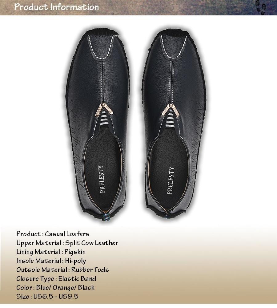 e5644c461c5c Prelesty Luxury Brand Swag Uomini Urbano Vestito Mocassini Slip on ...
