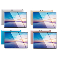 Multi touch 2.5D IPS tablet PC 3G Android 9,0 Octa Core Google Play tabletas 6GB RAM 64GB ROM WiFi GPS 10 tablet pantalla de acero