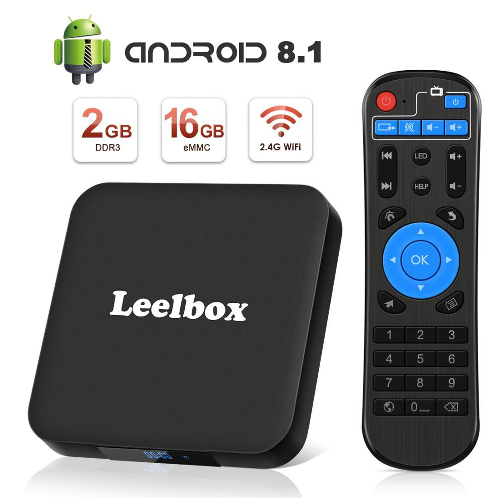 ТВ бокс Android 8,1 Leelbox Smart tv Box с голосовым пультом дистанционного управления, четырехъядерный процессор Amlogic S905W, 2 Гб-in ТВ-приставки и медиаплееры from Бытовая электроника on AliExpress - 11.11_Double 11_Singles' Day