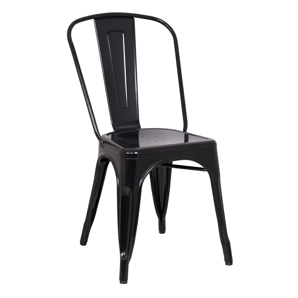TERRENCE DINING CHAIR BLACK-SET OF TWO helix dining chair anti black gold set of 2