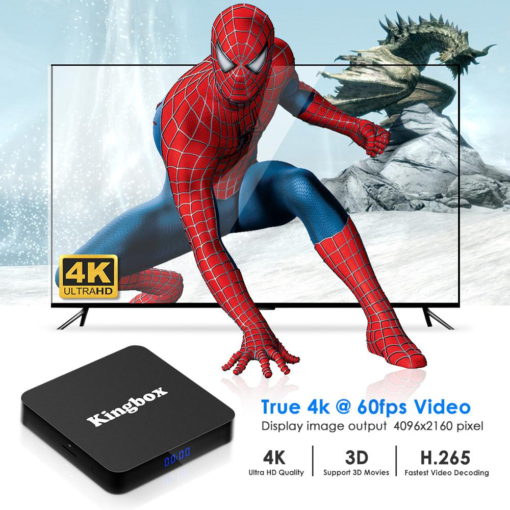 Image 5 - Google TV Box K4 MAX 4G 64G Smart Android 9.0 TV Box  Rockchip RK3228 WiFi LAN Media Player Assistant Remote Smart TV BOX-in Set-top Boxes from Consumer Electronics