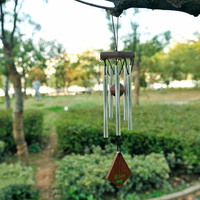 Woodstock Medium Amazing Grace Chime Inspirational Collection Metal tube gardening outdoor tuning tube music wind chime hanging