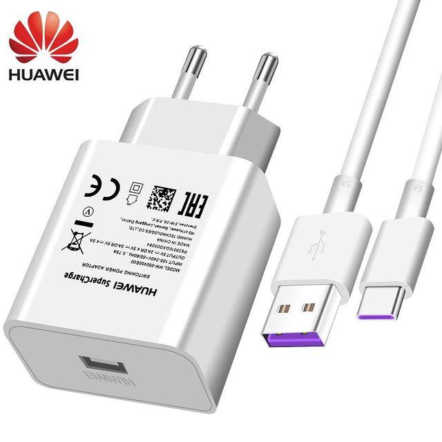 Huawei USB Super Charger Muur Travel SuperCharge Snelle USB Type C Kabel 100 Originele Mate10