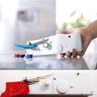 Handheld Sewing Machine Travel Portable Stitching Emergency Repair Battery Handy Essential Compact Mini Small Sewing Machines